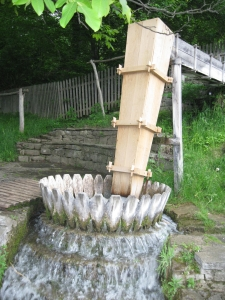 Bulgaria - water powered washing machine