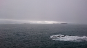 Misty Treshnish Isles from Staffa Josef photo