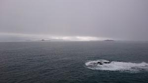 Misty Treshnish Isles from Staffa Josef photo