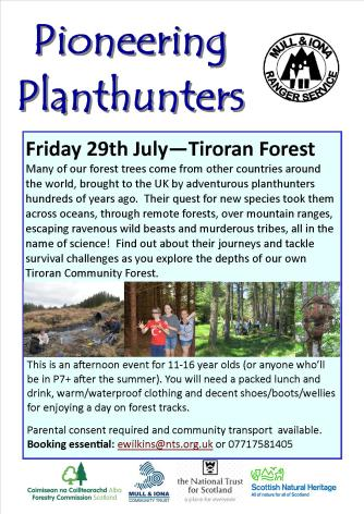 Pioneering Planthunters poster