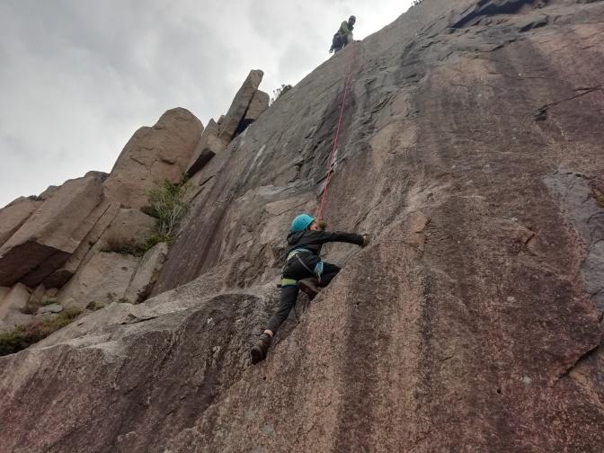 climbing 31st july PY 1