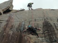 climbing 31st july PY 4